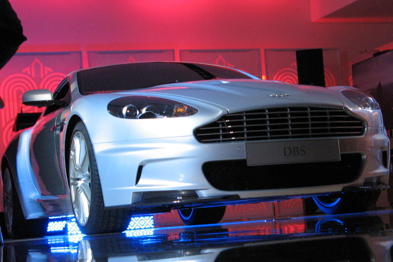 Aston Martin DBS Launch